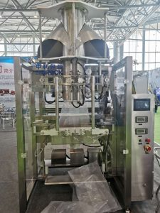 ZL1100 Automatic baler machine (small pouch packing into big bag )