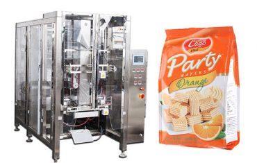 पूर्ण स्वयंचलित अन्न क्वाड सील बॅग पॅकिंग मशीन