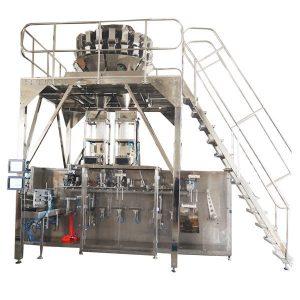 Granules साठी मल्टीहेड स्केल सह क्षैतिज पूर्व तयार पॅकिंग मशीन