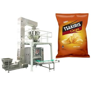 बटाटा चिप्स पॅकिंग मशीन