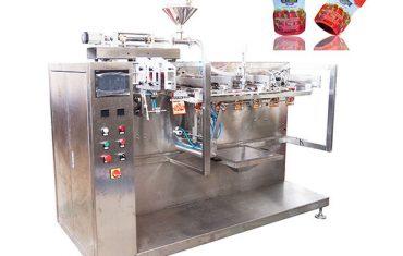 पूर्व-निर्मित पाउच केचअप पॅकिंग मशीन