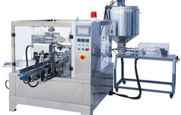 प्रीमेड पाउच द्रव आणि पेस्ट मशीन पेस्ट