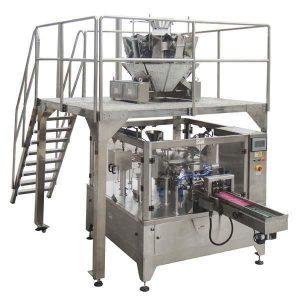 रोटरी स्वयंचलित जिपर बॅग बियाणे नट्ससाठी सील पॅकिंग मशीन भरा