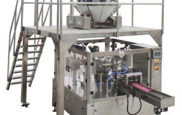 रोटरी स्वयंचलित जिपर बॅग बियाणे काजू साठी सील पॅकिंग मशीन भरा