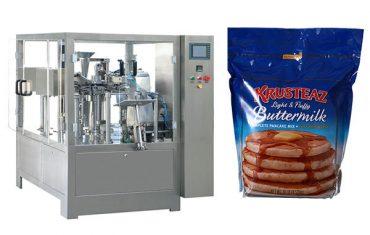 स्टँड-अप जिपर प्रीमिड पाउच पॅकिंग मशीन